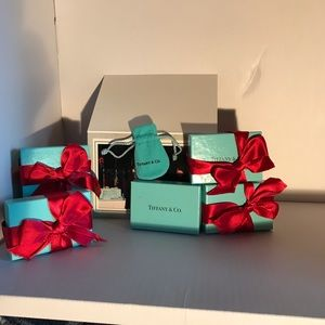 Tiffany & Co. Bags - Listing for ONE Set: Box, Ribbon, Dust Pouch